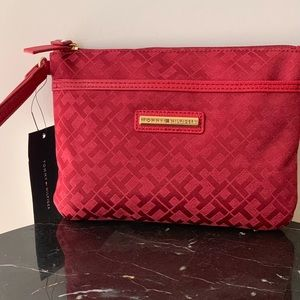 Tommy Hilfiger wristlet- brand new with tags